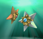 The Shining Star of the Sea: Staryu