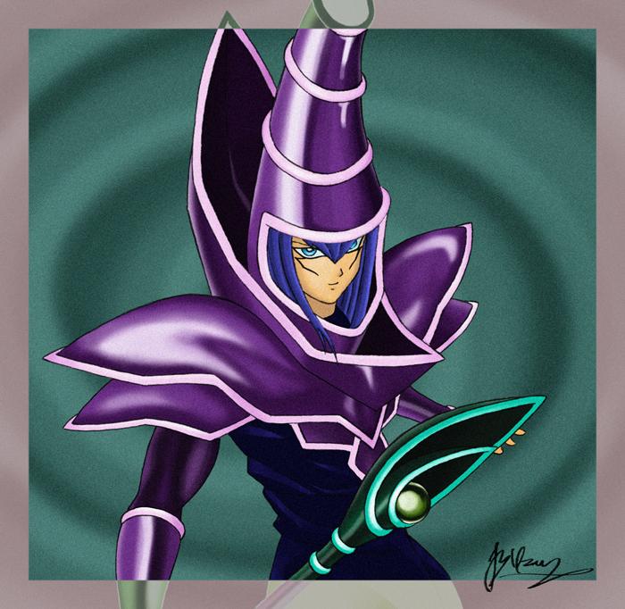 Dark Magician II by VortexOfSaturn