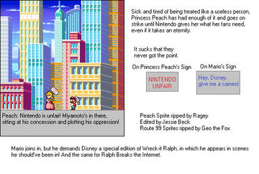 Peach and Mario's Strike by ASDFGHJKLDQREW