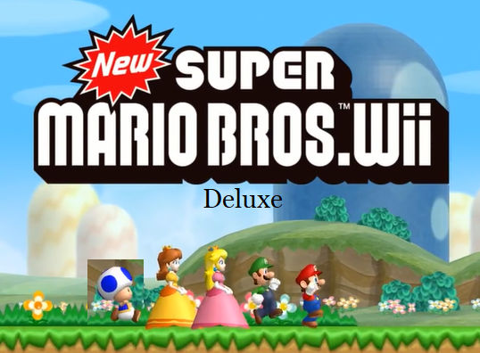New Super Mario Bros Wii Deluxe By Asdfghjkldqrew On Deviantart