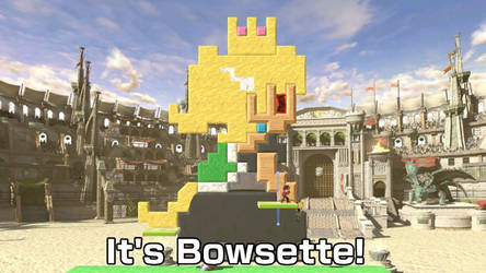 Bowsette Stage in SSB Ultimate by ASDFGHJKLDQREW