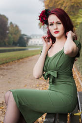 Red Headed Woman by tscharlie