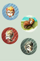 Requiem - Lalith Buttons by Lucrai-Arts