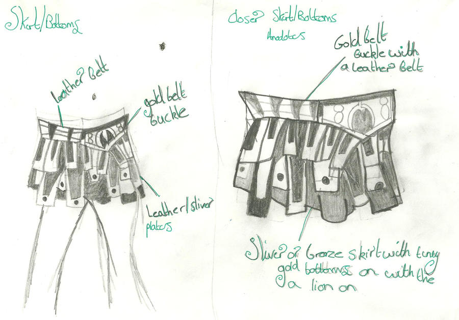 Gladitor Skirt: Design by xxxBrokenSoulxxx