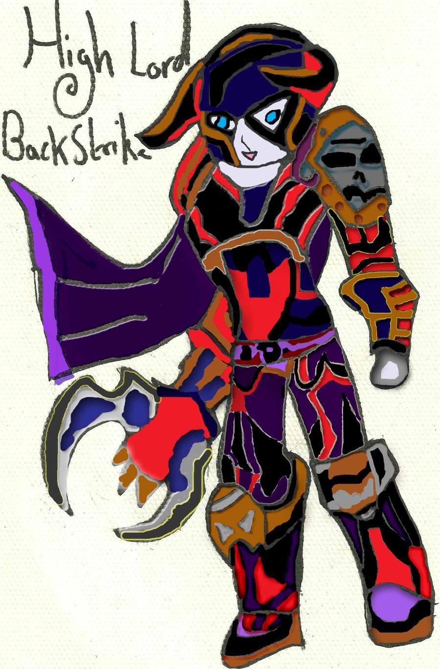 High Lord BackStrike: Coloured by xxxBrokenSoulxxx
