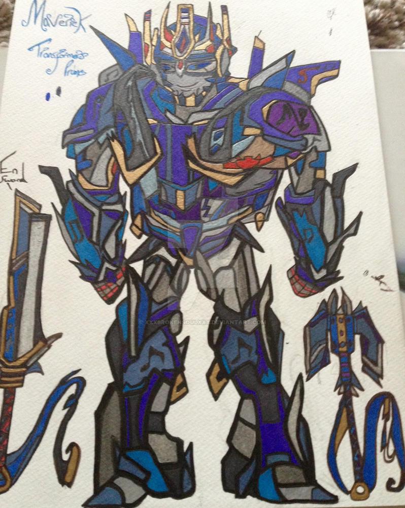 Mastero Maverick: Transformers Prime by xxxBrokenSoulxxx