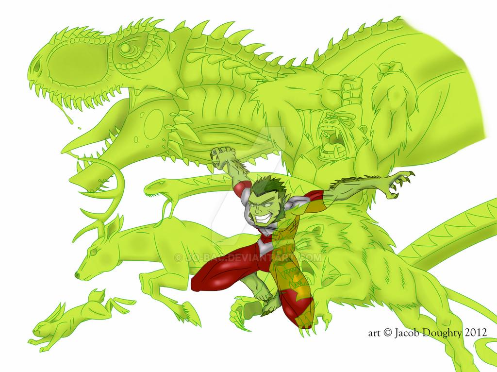 Beast Boy By Jo Bac On Deviantart