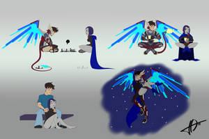 Barricade379's Draco w/Raven by JO-Bac