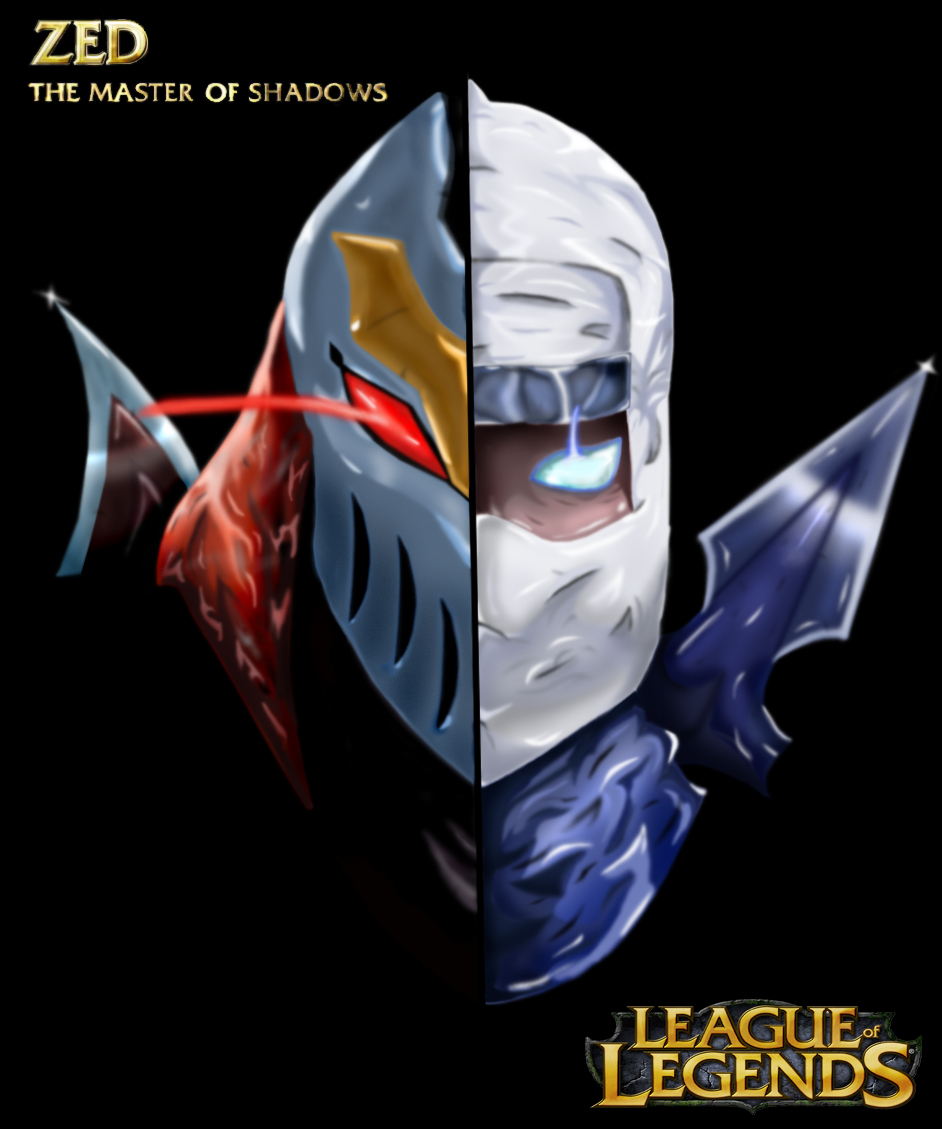 Zed, the master of shadows by lazebe