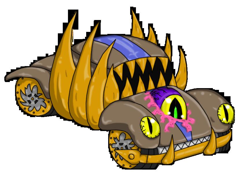 Monster Car by Xaidon