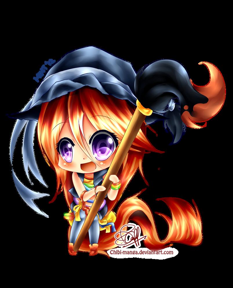Chibi Aya-chan by mintdesu