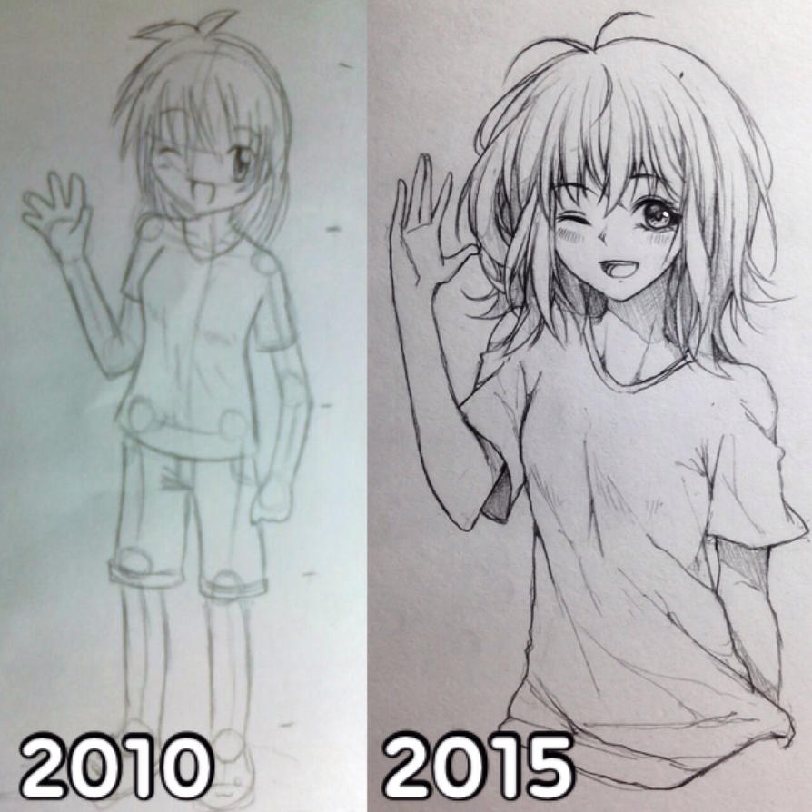 2010 vs. 2015 by mintdesu