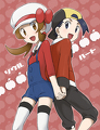 Kotone and Hibiki by Kite25in1990