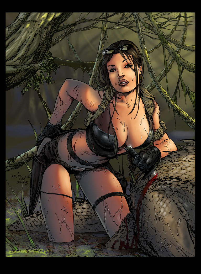 Tomb Raider-coloured by intheswamp