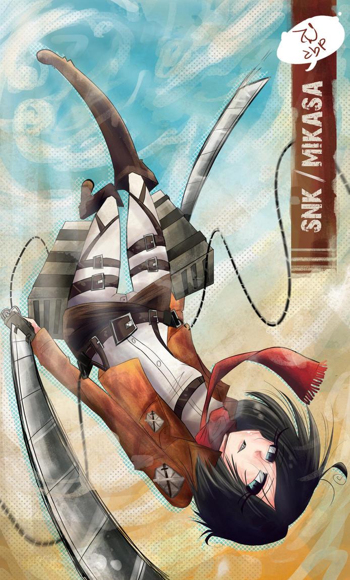 Mikasa by demonbp