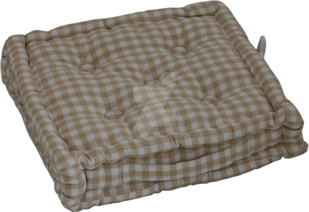 Floor Pillows Reddit : Cotton Gingham Check Beige Floor Cushion by homescapesonline on DeviantArt