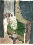 Isildur and the White Tree by Murrauddin