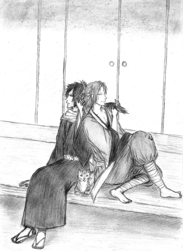 Both of a hair by Murrauddin