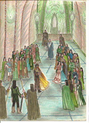 Coming to Nargothrond by Murrauddin