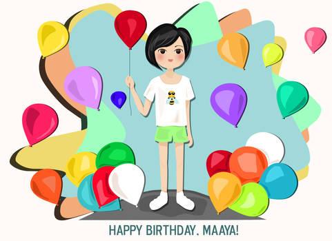 Happy Birthday, Maaya!