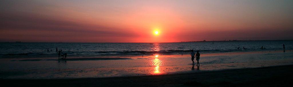 Vista al tramonto