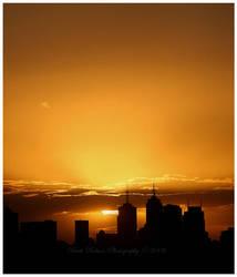 Ville au soleil II by Kerridwyn