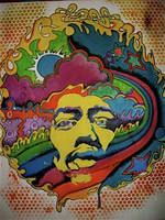 Physcodelic Jimi Hendrix by JulioSmerano