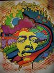 Physcodelic Jimi Hendrix