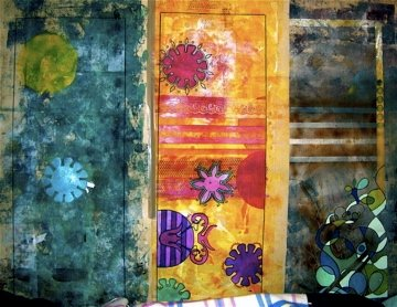 Spray Painted Bedroom Wall by JulioSmerano