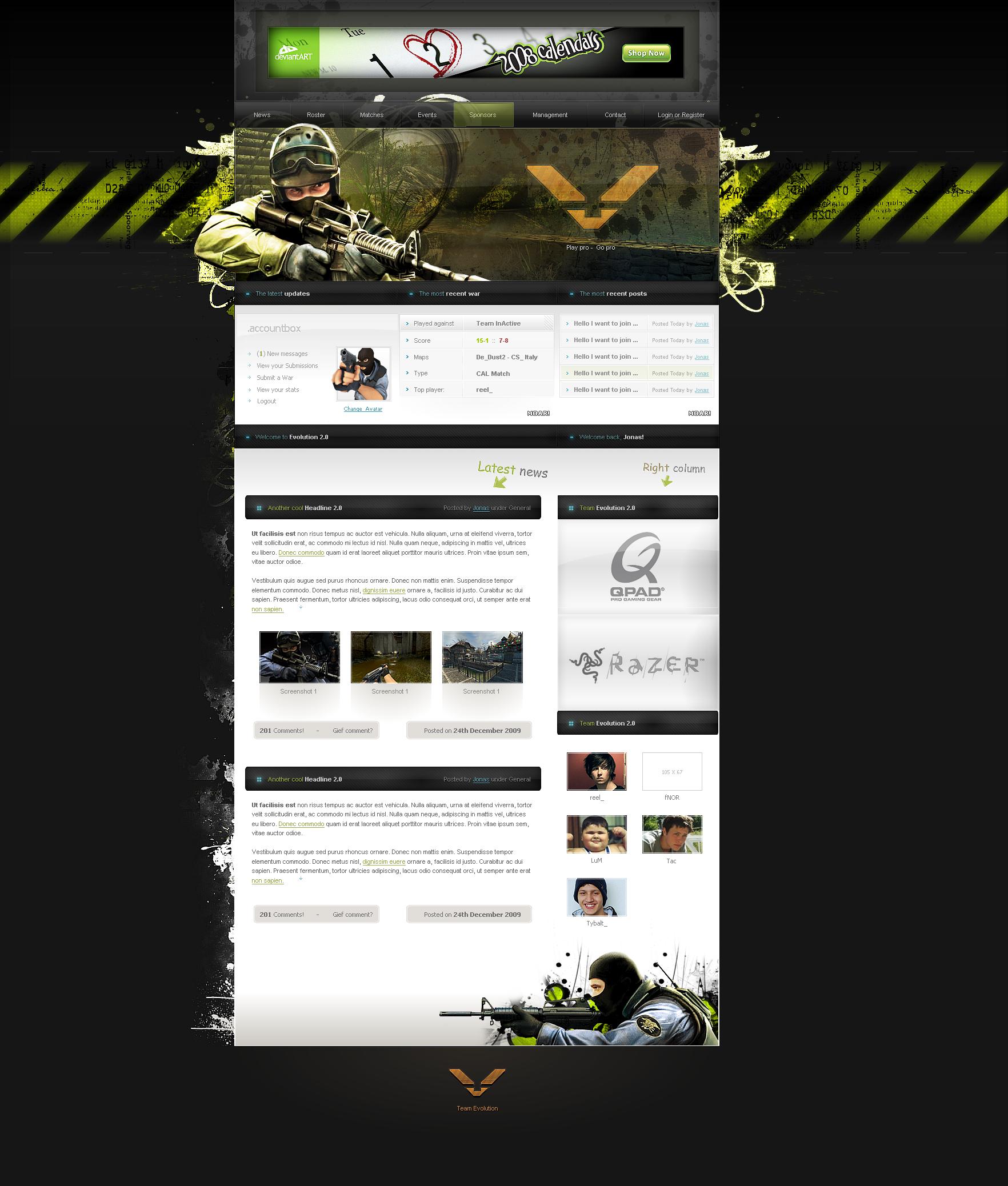 Counter Strike Evo 2 0 Design By Jonasingebretsen On