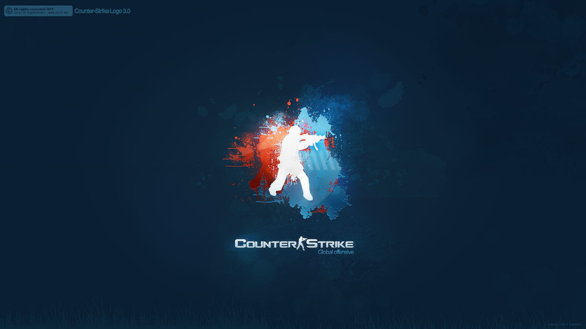 Counter-Strike: Global Offensive Logo 3.0 by JonasIngebretsen