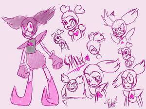 Spinel Rough Sketches