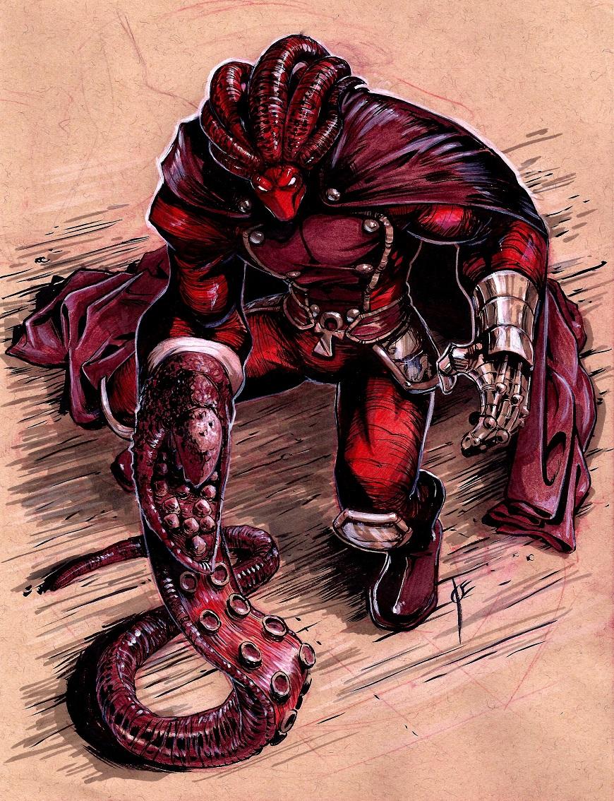 EST'z The Glyph Red-Hulkin' Out! By Joe Vriens! by Estonius
