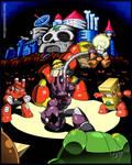 EST'z The Glyph (Mega Man-styley) by Higure-san!