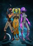 Rebel Angels with Sabine, Hera, y Aneksi by Myth1c