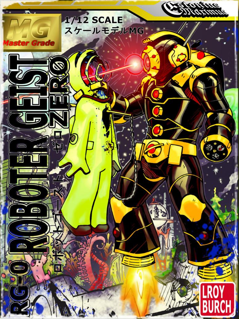 Roboter Geist Zero: Bounty Hunter! by LroyBurch! by Estonius