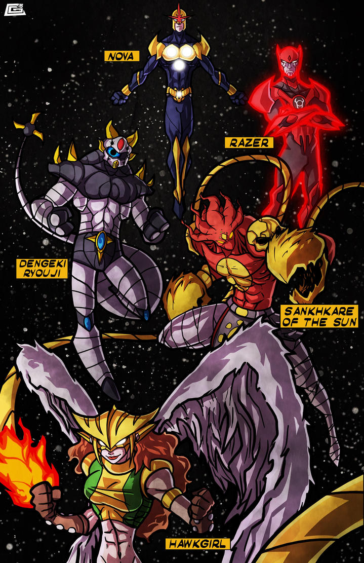 The Cosmic Corps! By G-Chris! by Estonius