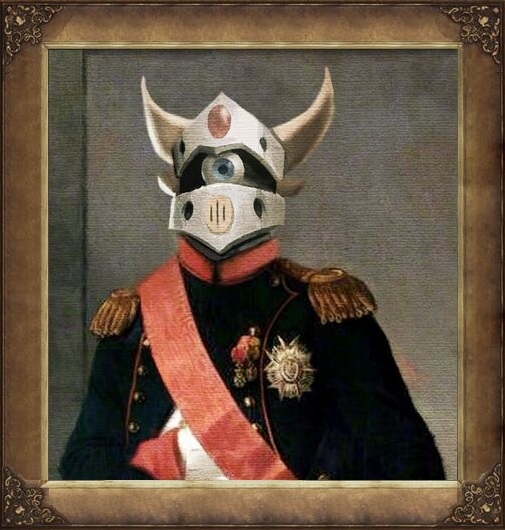 Emperor Dengeki Bonaparte Portrait deviantID by Estonius
