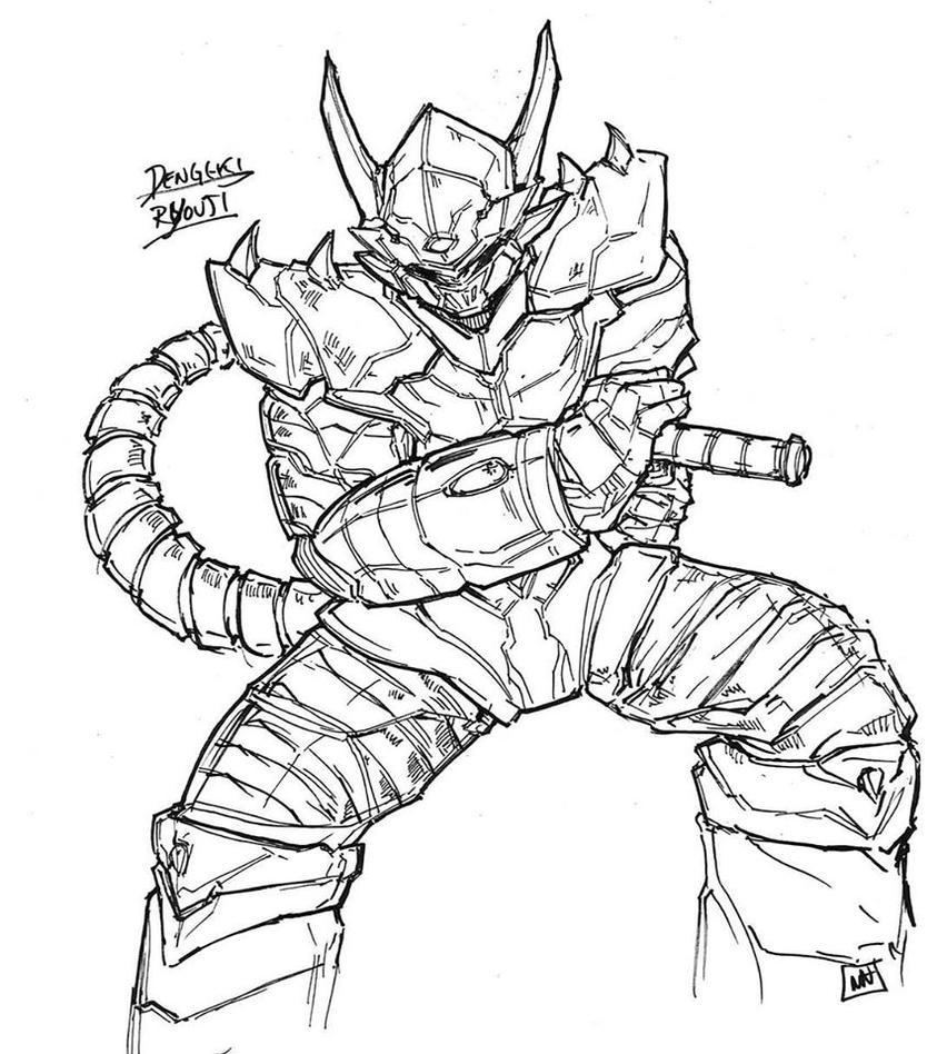 EST'z Dengeki Ryouji! By Bulletproof Turtleman! by Estonius