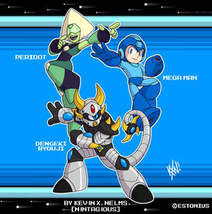 The Technological Trio! By Kevin X. Nelms!