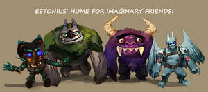 Estonius' Home For Imaginary Friends! By Leodongo!