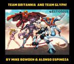 Team Britannia+Team Glyph Team-up!~Bowden+Espinoza