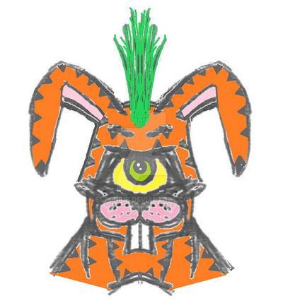 Peter Hopper is The Beta-Carotene Rabbit! By Me by Estonius