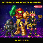 Intergalactic Bounty Hunters! By Ninjatron!