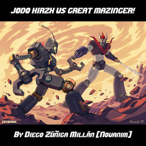 SRW: Jodo Hirzx VS Great Mazinga! By Novanim!