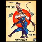 Neko Yang / Neko Yin! By Cameron Knight! by Estonius