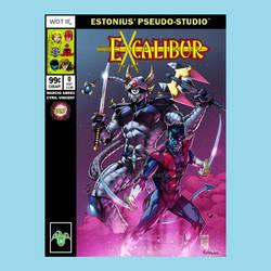 Excalibur: Dengeki Ryouji + Nightcrawler! ::BAMF:: by Estonius