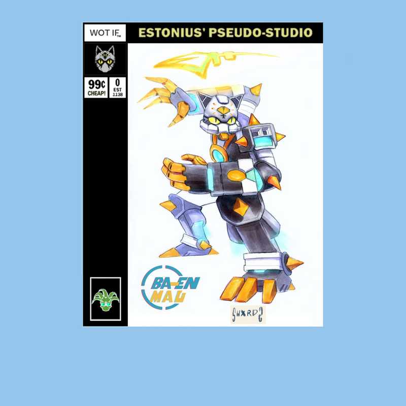 Ba-En Mau: Gundam'd Up! By SwxrdZ! by Estonius