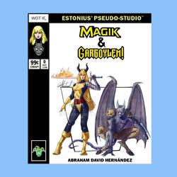 Marvel Team-Up: Magik + Gargoylem! By AbrahamDavid