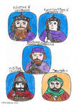 7th Century Byzantine Characters1